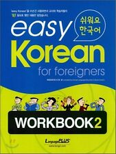 Easy Korean for Foreigners Workbook 2 w/ CD Free Ship
