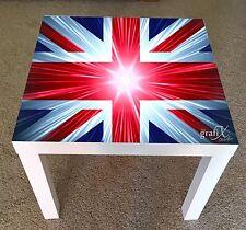 Union Jack Vinyl Sticker Suitable For ikea lack Table / Coffee table lk4