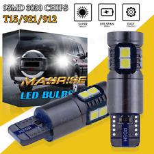 1800LM 921 T15 LED Reverse Backup Light 9SMD 3030 White for Toyota Camry 4Runner