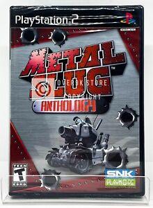 Metal Slug Anthology - PS2 - Brand New   Factory Sealed