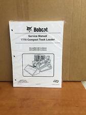 Bobcat T770 Track Loader Service Manual Shop Repair Book 1 Part Number # 6989476