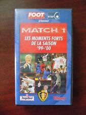 VHS match 1 , les moments forts de la saison 1999/2000