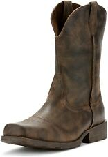 Ariat 185470 Mens Wide Square Toe Western Cowboy Boot Antiqued Grey Size 8 D