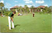 Vintage Walt Disney World Postcard The Golf Resort Golf Course KA