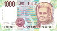 Italy 1000 Lire 1990  - Free to Combine Low Shipping