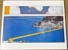 Christo & Jean-Claude  The Floating Piers Project Lake Iseo Italy 13x10 No 1