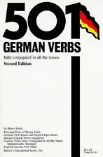 501 German Verbs: Fully Conjugated in All the Tenses (501 Verbs Series)