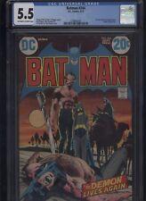 Batman #244 CGC 5.5 Neal Adams 1972 classic story