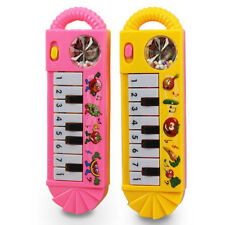 Baby Electric Piano Musical Rattles Hand Bell Teether Infant Newborn Toys Gifts