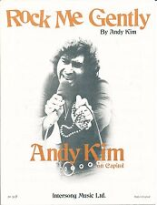 Rock Me Gently-Andy Kim - 1974 Partituras