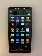Motorola Droid RAZR M - 8GB - Black (Verizon) Smartphone - Read Description