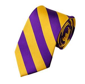 "Brand NEW! Manzini Neckwear® Men's 3.5"" DS Tie Regular College Stripe Woven Tie"