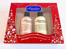 Philosophy Pink Marshmallow Buttercream Shampoo Bubble Bath Body Lotion Gift Set