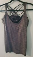 Lululemon Women's Size 10 Wild Tank Camo Bra Attached SOLD OUT MSRP $68