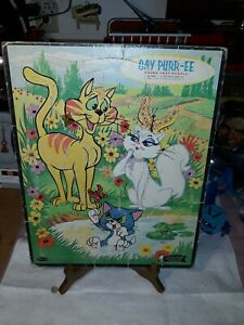 Vintage 1962 GAY PURR-EE Frame Tray Puzzle By Whitman Publishing Co.