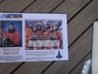 IN MEMORIAM WILLIAM MCCOOL MICRONESIA SPACE SHUTTLE COLOMBIA  SHEETLET LARGE FDC