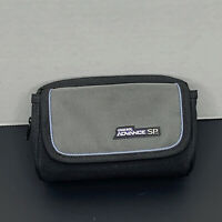 Nintendo Gameboy Advance SP Carry Case Organizer Bag - Gray - CLEANED!
