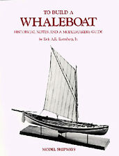 MODEL SHIPWAYS New Bedford Whaleboat Book