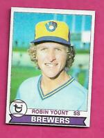 1979 TOPPS # 95 BREWERS ROBIN YOUNT NRMT+  CARD (INV# C3953)
