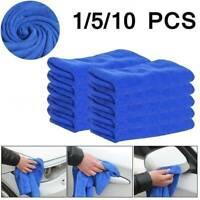 Microfiber Cleaning Cloth No-Scratch Rag Car Polishing Detailing Towel 30x30cm