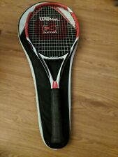 Wilson K Factor Bold 100 L3, 4 3/8 Tennis Racquet w Carrying Case Free Shipping