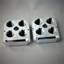 (2) Dillon Precision RL 550B RL550C Style Billet Toolheads (2) Tool Heads USA1