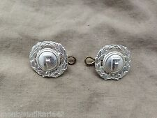 Original Vintage/Old Furness Withy Shipping Line Uniform Collar Dogs?