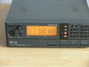 Roland Sound Canvas SC-88 Midi GM Soundmodul Expander