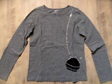 GYMBOREE joli chemise manches longues gris paillettes Sac Taille 9/134 Top st817