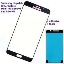 Samsung galaxy a5 2016 a510f a510f/ds Black Outer Glass Touch Screen + Adhesive