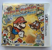 Nintendo 3DS Paper Mario: Sticker Star Video Game BRAND NEW SEALED Y-fold