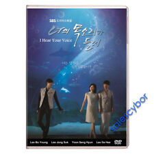 I Hear Your Voice Korean Drama (5 DVD) Excellent English Subtitles & Quality.