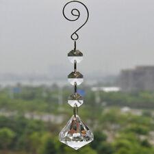 50pcs Clear Acrylic Crystal Garland Hanging Beaded Chain Wedding Tree Ornaments