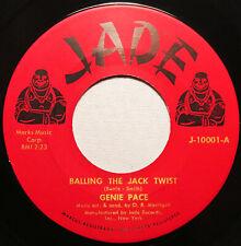 "Genie ritmo ""Balling el Jack Twist"" Jade 45rpm (1957) Raro palomitas de maíz, Rock & Roll"