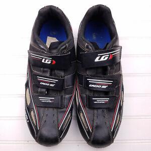 Louis Garneau Ventilator 2 Size EUR 40 US 7 men's black Ergo Air cycling shoes