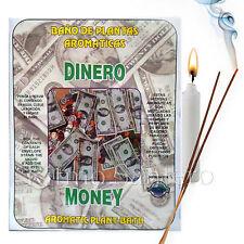SPIRITUAL PLANT BATH: MONEY- DINERO Herb Wash Bano Despojo Limpia Santeria Wicca