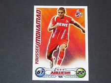 MOHAMAD 1. FC KÖLN TOPPS MATCH ATTAX PANINI FOOTBALL BUNDESLIGA 2009-2010