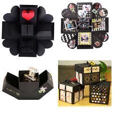 1Pc Square Surprise Explosion Box Handmade Scrapbook Photo Album Valentine Gifts