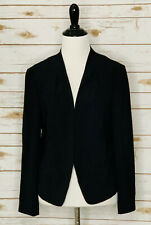 ANN TAYLOR LOFT Sz M Women's Blazer Jacket Black Originally $129