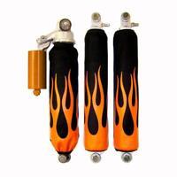Arctic Cat DVX 400 Orange Flame ATV Shock Cover