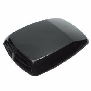 Car Body Bonnet Engine Air Flow Intake Hood Scoop Vent Cover Black Accessories