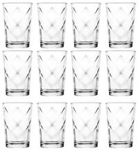 12x Water juice drinking GLASSES everyday use -MEVSIM-