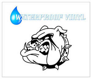 FIERCE BULLDOG waterproof Self adhesive vinyl decal stickers graphic 1072