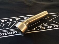 Baffle DB Killer 43 mm Angled Exhaust Silencer for Akrapovic and other Silencers