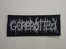 GOREROTTED DEATH METAL WOVEN PATCH