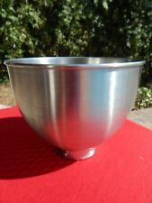 Kitchen Aid K45 Twist Lock Stand Mixer 4.5 qt Stainless Steel Mixing Bowl