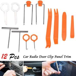 101835 12-Teile Clip Demontage Werkzeug Lösehebelsatz Verkleidung Clipheber