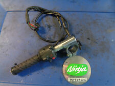1998 ZX6R clutch handle bar left clip on hi low horn turn switch zx 6r 99 Video