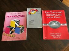 PIANO SONG BOOK s lot 3 big easy third grade thompson john modern bastien play