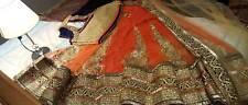 ethnic lehenga, medium to small size, with heavy skirt
